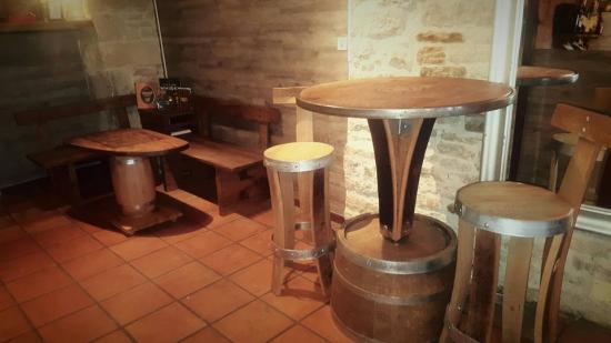 aménagement bar a vin